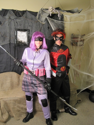 Hit Girl and Red Mist